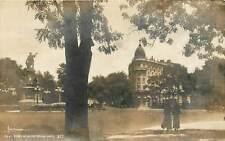 Mexico, Mexico City, En El Paseo De La Reforma (Main Street) Real Photo Postcard