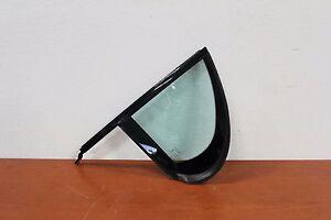 C0398 2001-2008 Jaguar S-Type Rear Door Quarter Glass Driver Side OEM