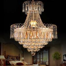 60*70Cm Luxury Crystal Chandeliers Home Lighting Pendant Lamps Ceiling Fixtures