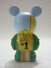 "Disney Vinylmation Sports Series FOAM FINGER Mickey 1.5"" Jr Figure NON-CLIP Type"
