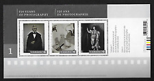 Canada Stamps — Souvenir Sheet — Art, 150 Years of Photography #2626 — MNH
