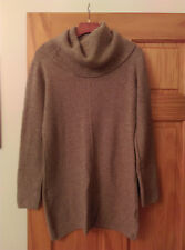 AKIRA SWEATER DRESS TUNIC SIZE M/L TAUPE NWT