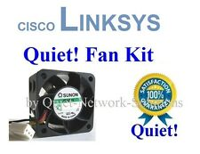 1x Quiet fan for Cisco Linksys SRW2024P only 12dBA Noise Best for Home Network