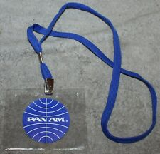 VINTAGE PAN AM ID HOLDER NECKLACE