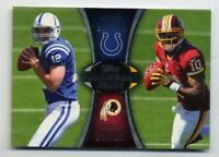 2012 Topps ANDREW LUCK & ROBERT GRIFFIN III Rookie Card RC INSERT #PA-LG Colts