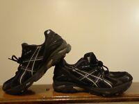 Asics Gel-2140 Athletic Women's Shoes Black Color Size 9.5