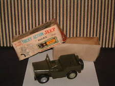 MARX TOYS, BATTERY, TRICKEY ACTION JEEP  IN ORIGINAL BOX/FULLY WORKING! SWEET!!