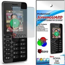 2 Película Para Nokia 108 Double SIM Proteger Guardar Pantalla LCD Películas