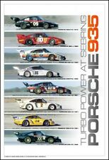 Porsche 935 Turbo Power at Sebring 1979-1982 1st on Ebay Car Poster:)