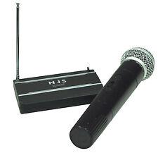 MICRO MICROPHONE MAIN SANS FIL 175.0 MHz VHF EMETTEUR RECEPTEUR COMPACTE