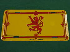 SCOTLAND FLAG METAL LICENSE PLATE SCOTTISH SIGN L061