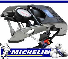 MICHELIN 12202 Double Barrel Piston Car Van Cycle Bike Tyre Inflator Foot Pump