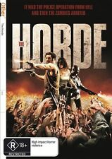 The Horde (DVD, 2012) FRENCH ZOMBIE THRILLER - VERY GOOD