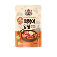 Korean Hot Sauce for Rice cake Tteokbokki Paste 150g Bekseol Ez Convenient Cook