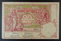 1919 Belgium 20 Francs Banknote, P-67.