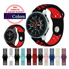 Soft Silicone Sport Bracelet Watch Band Strap For Samsung Galaxy Watch 42mm 46mm