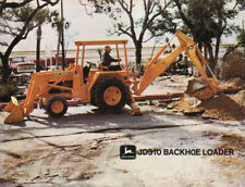 "1971 John Deere ""JD310"" Backhoe Loader Brochure Leaflet"