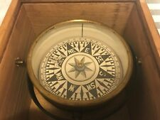 Antique Ship's Dry Compass