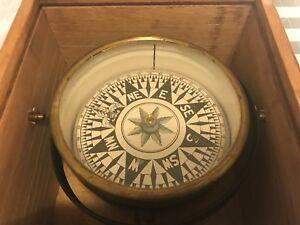 Antique Ship's Dry Compass