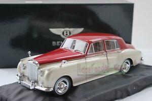 1:18 MINICHAMPS Bentley S2 1954 Red Silver 100 139950 Diecast