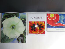 3 Georgia O'Keeffe Books One Hundred Flowers 1998 and Texas 1998 O'Keeffe 2015