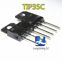 10PCS TIP35C TO-247 TRANS NPN 100V 25A  new