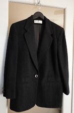 Saks Fifth Avenue Gray Grey Wool Jacket Blazer New Beautiful!