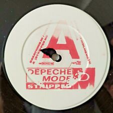 "DEPECHE MODE STRIPPED 12"" UK PROMO RR BONG 10 WHITE LABEL STAMPED MUTE 1986 !!!"