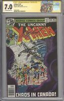 X-Men #120 CGC 7.0 SS SIGNED Chris Claremont (Marvel 1979) Giant Size #1 Label