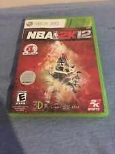 NBA 2K12 - Xbox 360 - WITH CASE! - Good Condition - With '90 Warriors/'01 Kings!