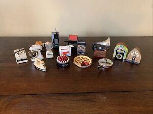 Lot of 15 Acme Refrigerator Magnets Vintage Dollhouse Miniature Kitchen