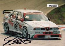 AUTOGRAMM auf Foto 13x18 cm DTM 1994 Franz Engstler - Alfa Romeo 155 V6 Ti (02)