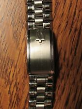 Champion Accutron Tuning Fork Bullet SS Mens Watch Band 17mm 11/16 18mm Restored