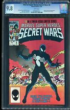 MARVEL SUPER HEROES SECRET WARS #8 CGC 9.8 WP 1st ORIGIN SYMBIOTE VENOM STAN LEE