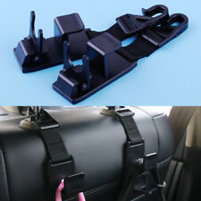 2x Car Auto Back Headrest Seat Hanger Bags Clothes Grocery Holder Hook Organizer