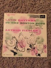 Andy Warhol Art Cover Latin Rhythms Boston Pops Arthur Fiedler Holy Grail
