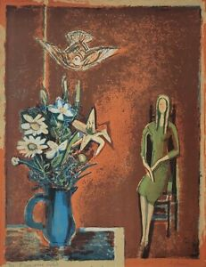 Francoise Gilot, Autumn, 1971, Original Lithograph, Rare, French