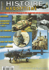 "HISTOIRE&MAQUETTISME N°75 ARDENNES / PANTHER ""RO2"" / TOBROUKS / PANZERFAUST"