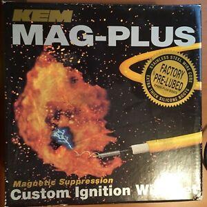 KEM MAG-PLUS 11-4058M CUSTOM IGNITION WIRE SET 5818