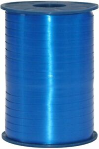 5mm Balloon curling ribbon Blue plain riboon Gift craft wedding engagement party