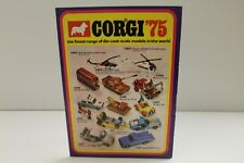 "Corgi Catalogue: ""1975 U.K. 8 Page Pull-Out Catalogue"""