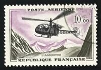 France #C40 Used CV$2.00 Alouette Helicopter