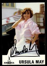 Ursula May Autogrammkarte Original Signiert ## BC 44032