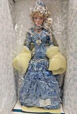 "RUSTIE Porcelain Doll KIMBERLEE 18"" w/ COA 0323/2000"