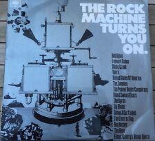 Dylan Moby Grape Leonard Cohen etc The Rock Machine Turns You On vinyl LP 1968