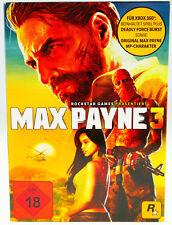 Max Payne 3 | Microsoft X-Box 360 X360 | komplett in OVP + Schuber | sehr gut
