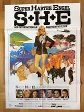 S.H.E. (Kinoplakat '80) - Omar Sharif / Cornelia Sharpe / Anita Ekberg