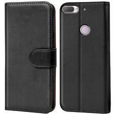 Handy Hülle HTC Desire 12 + Case Schutz Tasche Cover Wallet Flip Etui Bookcase