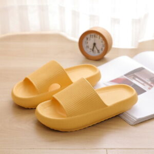 ✅PILLOW SLIDES Sandals Ultra-Soft Slippers Extra Soft Cloud Home Shoes Anti-Slip