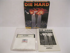 Rare Commodore 64 Die Hard Complete In Box Working C64